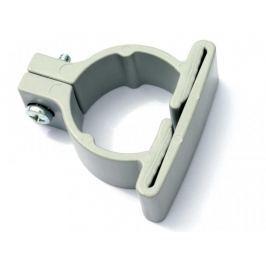 Příchytka PVC pro panely LIGHT - objímka průměr 48 mm, barva šedá