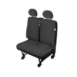KEGEL Potahy na sedadla pro dodávkové vozy DV2 Scotland (dvojsedačka), barva bílá/černá