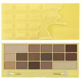 Makeup Revolution Zázračná paletka očních stínů Bílá čokoláda I LOVE MAKEUP (Wonder Palette Naked Chocolate)