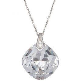Preciosa Náhrdelník s čirým krystalem Brilliant Rose 6011 00 stříbro 925/1000