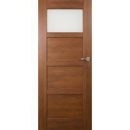 VASCO DOORS Interiérové dveře PORTO kombinované, model 2, Ořech, A
