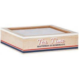 Time Life Krabička na čaj 9 přihrádek