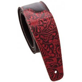 Perris Leathers 6881 The Luxury Collection Red Kytarový popruh