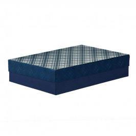 Dárková krabice Sabina 4, tmavě modrá - 40x28x8,5cm