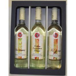 Dárková kazeta Hémerá - výběr bílých suchých vín z Peloponésu