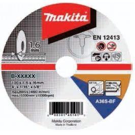 Makita Kotouč řezný kov 125x1,6x22,23 A36S-BF