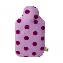 Hugo Frosch Dětský termofor Eco Junior Comfort s fleecovým obalem - růžový