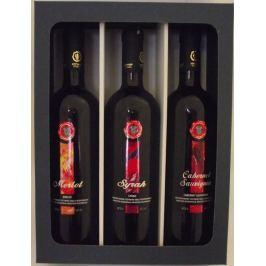 Dárková kazeta Nyx - výběr červených suchých vín z Peloponésu
