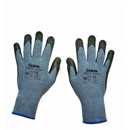 Červa DUNNOCK rukavice máčené v nitrilu 10