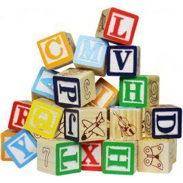 Marionette Hrací kostky písmena a čísla Stavebnice