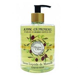 Jeanne En Provence Tekuté hydratační mýdlo na ruce Oliva (Liquid Soap) 500 ml