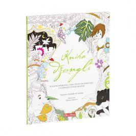 de Fabianis Valeria Monferto: Kniha džunglí, klasická pohádka a kouzelné omalovánky - Pohádkové omal