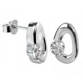 Silver Cat Stříbrné náušnice s krystaly SC009 stříbro 925/1000