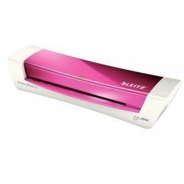 Laminátor Leitz iLAM Home Office A4 metalicky růžový