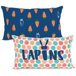 Moshi Moshi Dětský povlak na polštář Lapins 50x30 cm