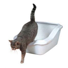 Trixie WC s okrajem, zvýšená zadní část bílá