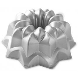 Nordic Ware Forma na bábovku hvězda, stříbrná