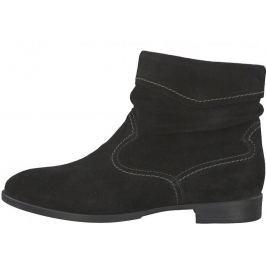 Tamaris dámská kotníčková obuv Lia 36 černá