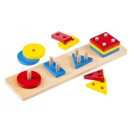 Montessori pomůcky Barevné geometrické tvary