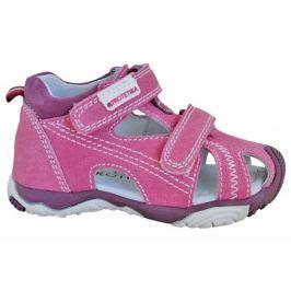 Protetika Dívčí sandály Laris 25 růžové