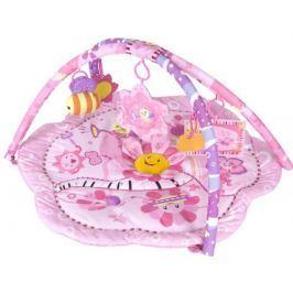 Sun Baby Hrací deka Růžová květinka