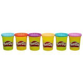 Play-Doh Balení 6 tub – výrazné barvy