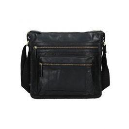 Lagen Kožená taška 22017 Black