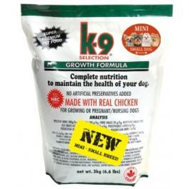K-9 Growth Small Breed 3 kg Granule pro psy