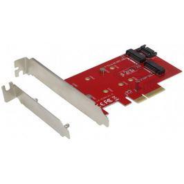 I-TEC PCI-E 2x M.2 Card (PCI-E/SATA) + LP PCE2M2