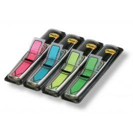 Záložky samolepicí Post-it šipky neon 11,9 x 43,2 mm/ 4 x 24 ks