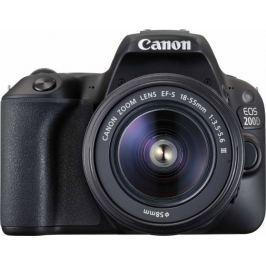 Canon EOS 200D + 18-55 EF-S DC III (2250C011AA)