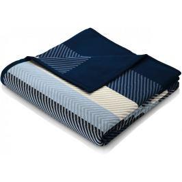Biederlack Fashion and Comfort Blue Stripe 150x200 cm