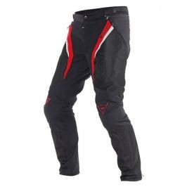 Dainese pánské kalhoty DRAKE SUPER AIR TEX vel.56, textil, černá/červená/bílá