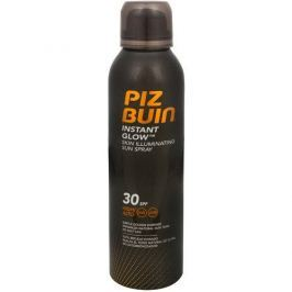 PizBuin Opalovací sprej pro okamžitě zářivou pleť SPF 30 (Instant Glow Sun Spray) 150 ml