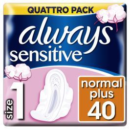 Always Ultra Sensitive Normal Vložky s křidélky (velikost 1) 40ks