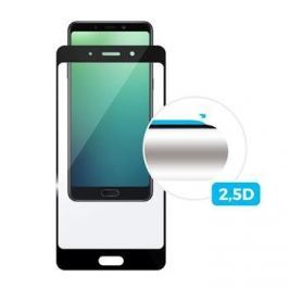 Fixed Ochranné tvrzené sklo Full-Cover pro Nokia 7 Plus, přes celý displej, černé, FIXGF-289-033