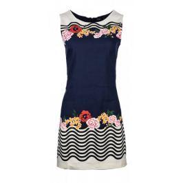 Desigual dámské šaty 34 tmavě modrá