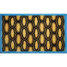 GRUND Česká koupelnová předložka, RETRO 60x100 cm, žlutá