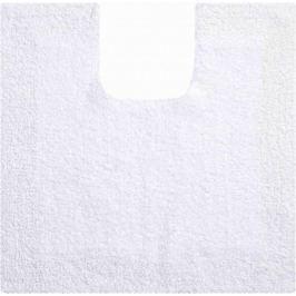 LineaDue Kvalitní bavlněná oboustranná koupelnová předložka, PRIMO 55x55 cm s.v., bílá