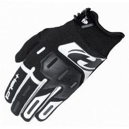 Held dětské crossové rukavice  HARDTACK vel.5 černá/bílá (pár)