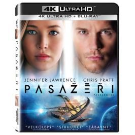Pasažéři (2 disky)    - Blu-ray + 4K ULTRA HD