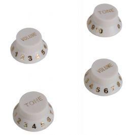 Perris Leathers Guitar Knob Magnets White Dárkový předmět