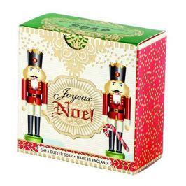 Michel Design Works Luxusní mýdlo v elegantní krabičce Louskáček (Shea Butter Soap) 100 g