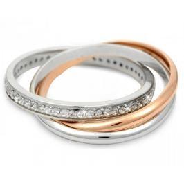 Silver Cat Stříbrný prsten s krystalky SC121 (Obvod 60 mm) stříbro 925/1000