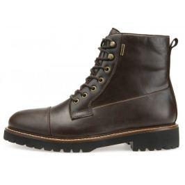 Geox pánská kotníčková obuv Kieven B Abx 41 tmavě hnědá