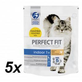 Perfect fit granule Indoor s kuřecím masem 5x750g