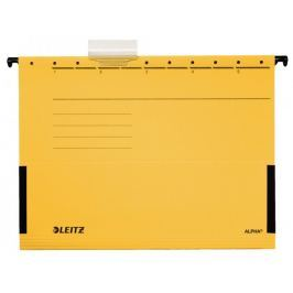 Závěsné desky Leitz ALPHA s bočnicemi žluté