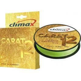Climax Splétaná Šnůra Carat 12 Žlutá 135 m 0,13 mm, 9,5 kg