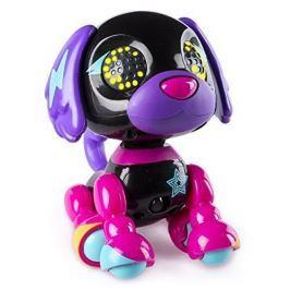 Spin Master Zoomer Interaktivní štěňátko Diva černo-fialové