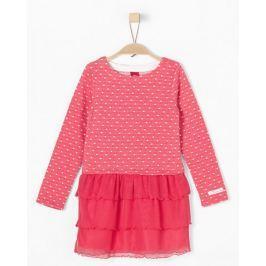 s.Oliver dívčí šaty 128 růžová